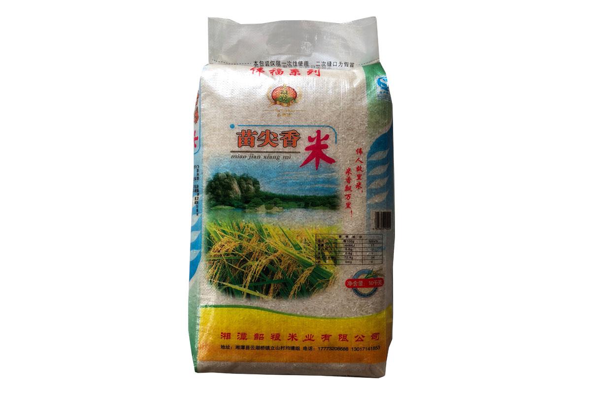 名湘贡10kg苗尖香米
